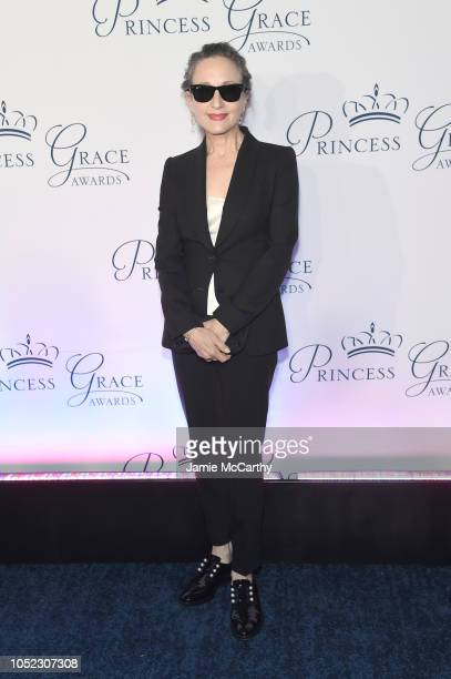 Host Bebe Neuwirth attends the 2018 Princess Grace Awards Gala at Cipriani 25 Broadway on October 16 2018 in New York City
