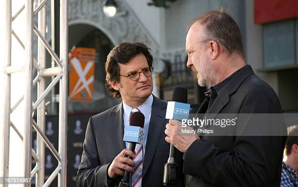 Host Ben Mankiewicz and actor Jim Beaver attend the Funny Girl screening during the 2013 TCM Classic Film Festival Opening Night at TCL Chinese...