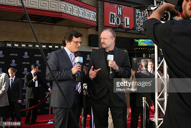 Host Ben Mankiewicz and actor Jim Beaver attends the Funny Girl screening during the 2013 TCM Classic Film Festival Opening Night at TCL Chinese...