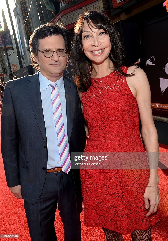 Host Ben Mankiewicz and actress Illeana Douglas attend the 'Funny Girl' screening during the 2013 TCM Classic Film Festival Opening Night at TCL Chinese Theatre on April 25, 2013 in Los Angeles, California. 23632_007_MB_0482.JPG