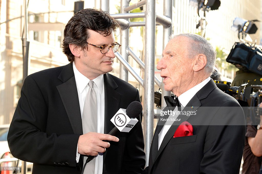 Host Ben Mankiewicz and Mel Brooks attend AFI's 41st Life Achievement Award Tribute to Mel Brooks at Dolby Theatre on June 6, 2013 in Hollywood, California. 23647_004_KM_0177.JPG