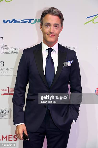 Host Ben Mulroney arrives at the David Foster Foundation Miracle gala and concert at Mattamy Athletic Centre on September 26 2015 in Toronto Canada