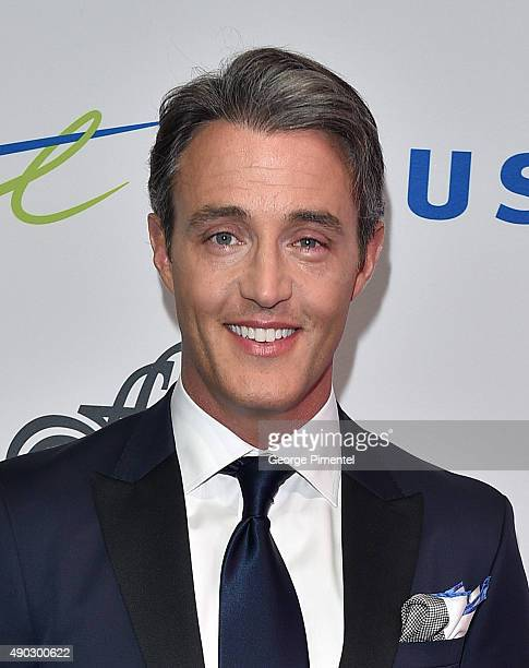 Host Ben Mulroney attends David Foster Foundation Miracle Gala And Concert held at Mattamy Athletic Centre on September 26 2015 in Toronto Canada
