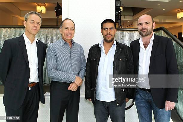 Host Bertrand Moullier Naval Conseil FIAPF Senior Expert for International Affairs Managing Director American Film Market Jonathan Wolf Rodrigo...
