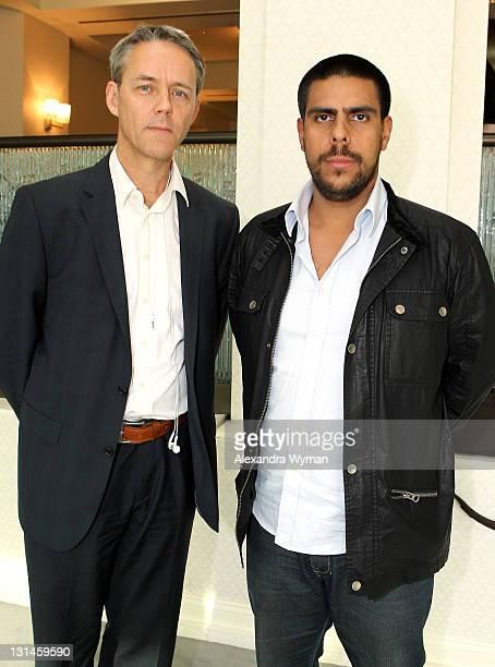 Host Bertrand Moullier Naval Conseil FIAPF Senior Expert for International Affairs and Rodrigo Guerrero Rojas Producer Maria Full of Grace...