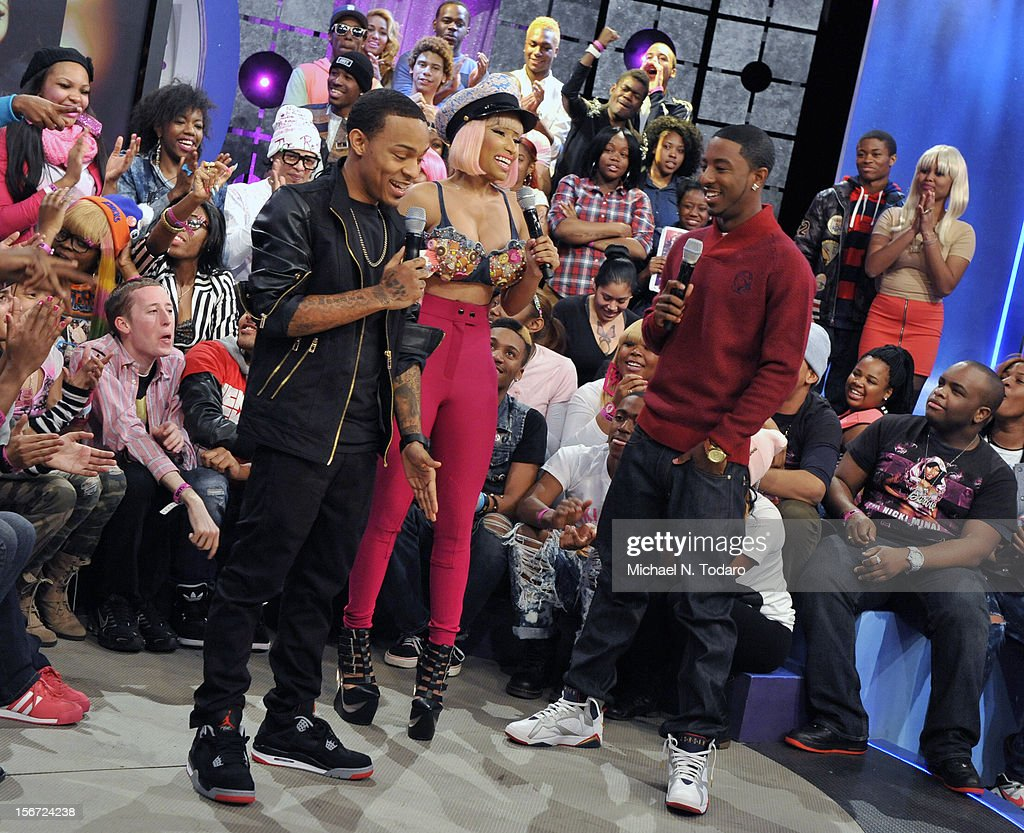 Nicki Minaj Visits BET's 106 & Park