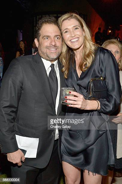 Host Brett Ratner and journalist Anna Coren attend the special event for UN SecretaryGeneral Ban Kimoon hosted by Brett Ratner and David Raymond at...