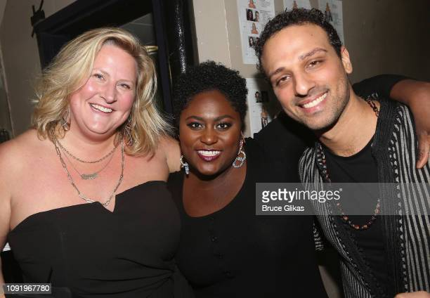 Host Bridget Everett Danielle Brooks and Ari'el Stachel pose at The 34th Annual CSA Artios Awards at Stage 48 on January 31 2019 in New York City