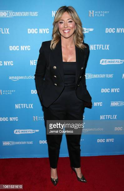 CNN host Brooke Baldwin attends This Changes Everything New York Premiere At DOC NYC Presented By Lyft Entertainment and NYWIFT at SVA Theater on...
