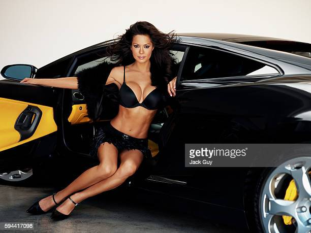 Brooke Burke, Razor Magazine, January 1, 2005