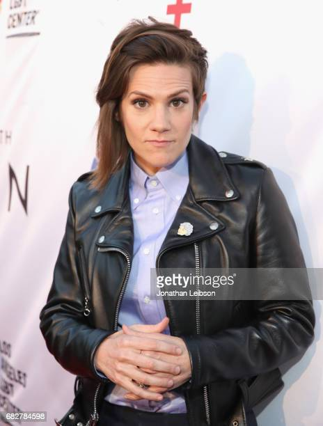 Host Cameron Esposito at the Los Angeles LGBT Center's 'An Evening With Women' at Hollywood Palladium on May 13 2017 in Los Angeles California