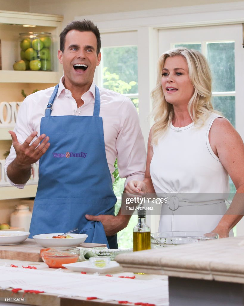 Alison Sweeney Family Pictures tv host cameron mathison and actress alison sweeney on the