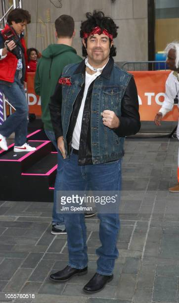 TV host Carson Daly attends the NBC Today Halloween 2018 at Rockefeller Plaza on October 31 2018 in New York City