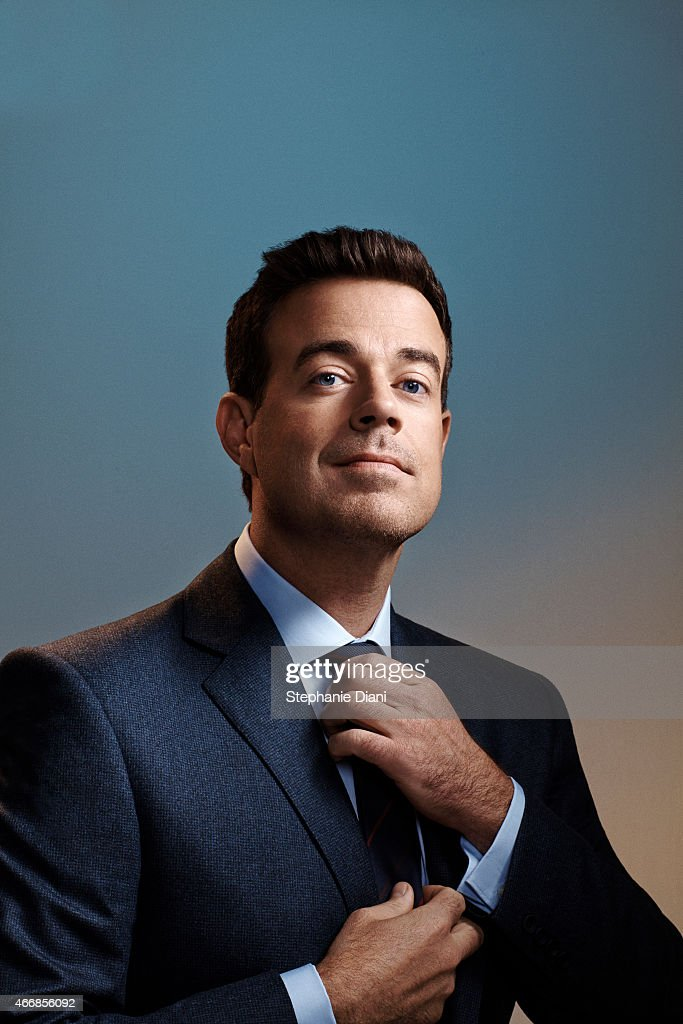 TV host Carson Daly is photographed for American Way Magazine September 17, 2014 at Splashlight Studios in New York City. COVER