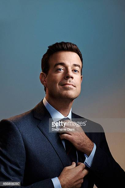 TV host Carson Daly is photographed for American Way Magazine September 17 2014 at Splashlight Studios in New York City COVER IMAGE