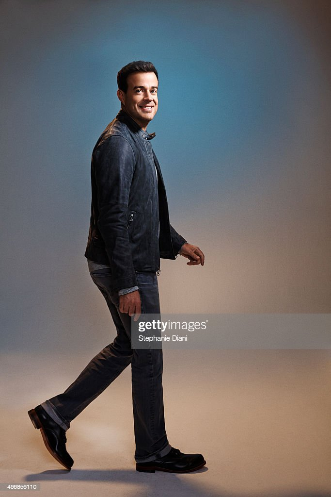 TV host Carson Daly is photographed for American Way Magazine September 17, 2014 at Splashlight Studios in New York City. PUBLISHED