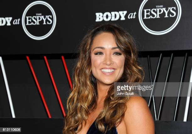 ESPN host Cassidy Hubbarth at BODY at ESPYS at Avalon on July 11 2017 in Hollywood California