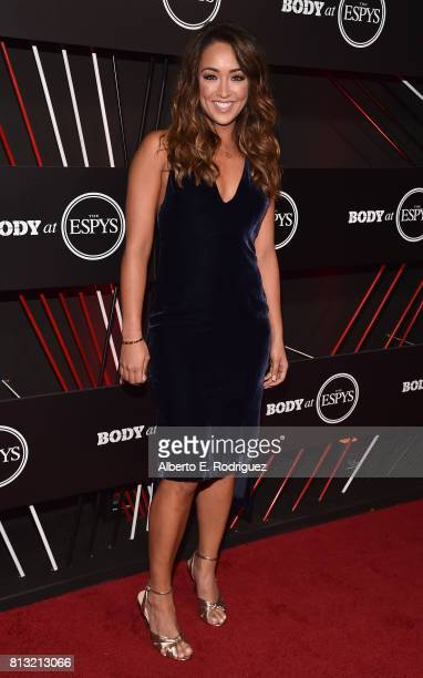 ESPN host Cassidy Hubbarth attends the BODY at The EPYS PreParty at Avalon Hollywood on July 11 2017 in Los Angeles California