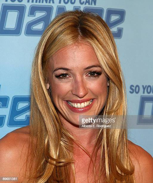 TV host Cat Deeley arrives at the finale of So You Think You Can Dance held at the Kodak Theater on August 6 2009 in Hollywood California