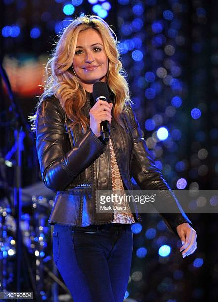Host Cat Deeley attends Escape to Total Rewards at at Hollywood Highland Center on March 1 2012 in Hollywood California