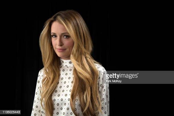 TV host Cat Deeley is photographed for Los Angeles Times on April 1 2019 in El Segundo California PUBLISHED IMAGE CREDIT MUST READ Kirk McKoy/Los...