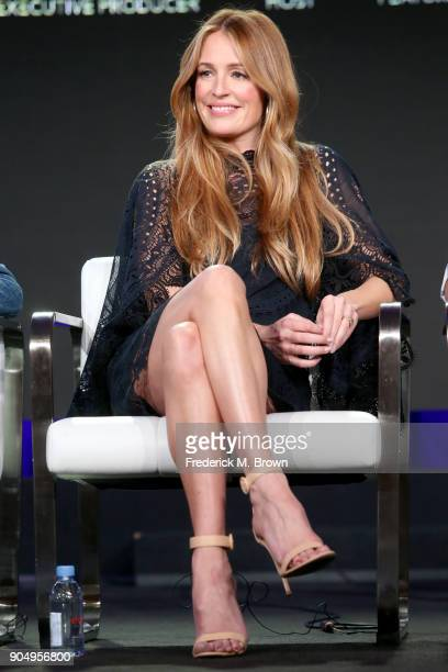 Host Cat Deeley of 'This Time Next Year' speaks onstage during the AE Networks portion of the 2018 Winter Television Critics Association Press Tour...