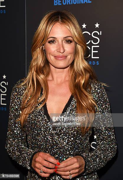 Host Cat Deeley winner of Best Reality Host Award poses in the press room at the 5th Annual Critics' Choice Television Awards at The Beverly Hilton...