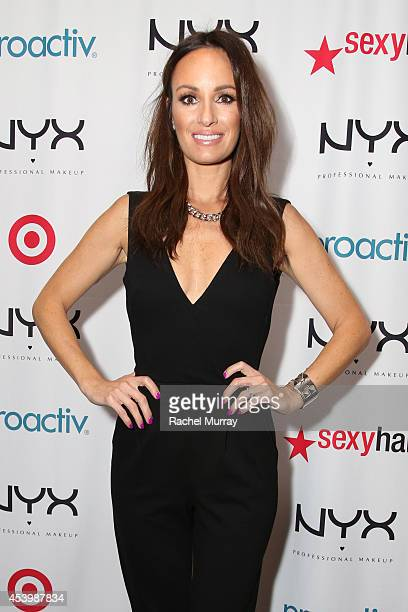 Host Catt Sadler attends NYX FACE Awards 2014 Presented by NYX Cosmetics at Club Nokia on August 22 2014 in Los Angeles California