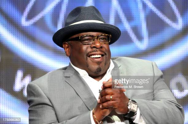 Host Cedric the Entertainer speaks onstage during the 'Who Wants To Be A Millionaire' panel discussion at the Disney/ABC Television Group portion of...
