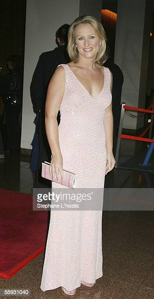 Host Celina Edmonds attends the Variety Australia 30th Birthday Gala Dinner at the Four Seasons Hotel on October 15, 2005 in Sydney, Australia.