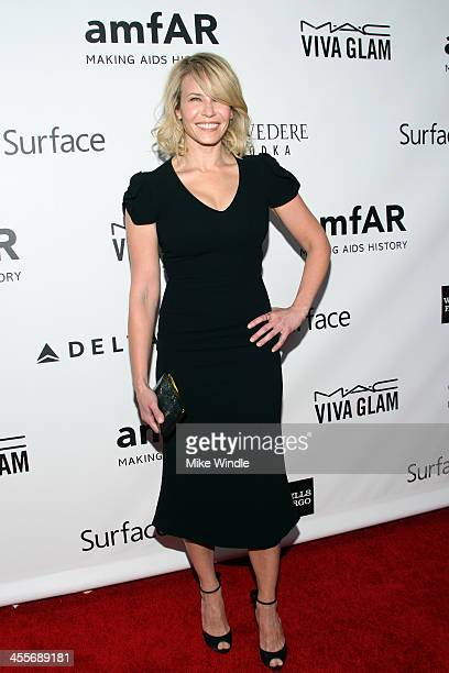 Host Chelsea Handler attends the 2013 amfAR Inspiration Gala Los Angeles at Milk Studios on December 12 2013 in Los Angeles California