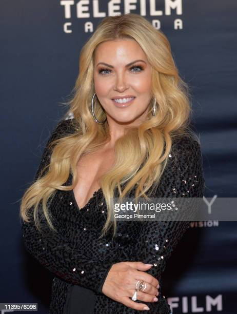 Host Cheryl Hickey attends the 2019 Canadian Screen Awards Broadcast Gala at Sony Centre for the Performing Arts on March 31 2019 in Toronto Canada