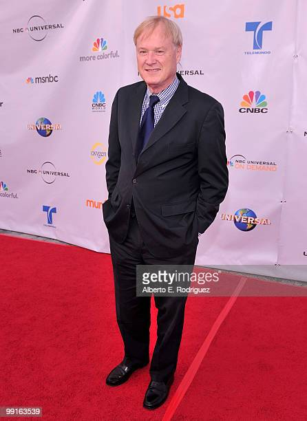 TV host Chris Matthews arrives at The Cable Show 2010 An Evening With NBC Universal on May 12 2010 in Universal City California