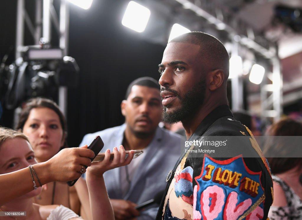 Nickelodeon Kids' Choice Sports 2018 - Red Carpet : News Photo