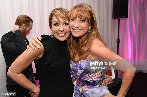CNN host Christi Paul and actress Jane Seymour attend the 5th Annual Open Hearts Foundation Gala on May 9 2015 in Malibu California