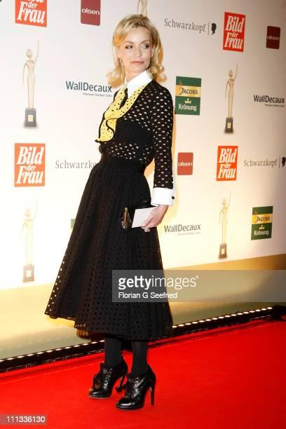 TV host Christiane Gerboth attends the 'Goldene BILD der FRAU Award' at Axel Springer Haus on March 31 2011 in Berlin Germany