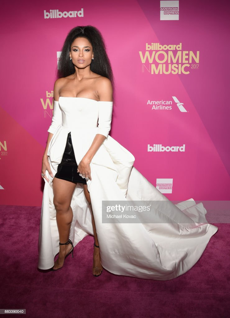 Host Ciara attends Billboard Women In Music 2017 at The Ray Dolby Ballroom at Hollywood & Highland Center on November 30, 2017 in Hollywood, California.