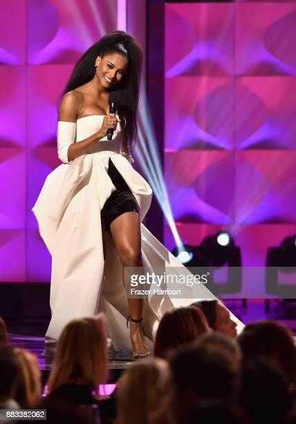 Host Ciara onstage during Billboard Women In Music 2017 at The Ray Dolby Ballroom at Hollywood Highland Center on November 30 2017 in Hollywood...
