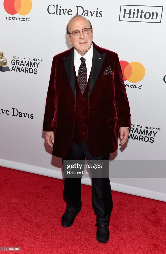 Host Clive Davis attends the Clive Davis and Recording Academy Pre-GRAMMY Gala and GRAMMY Salute to Industry Icons Honoring Jay-Z on January 27, 2018 in New York City.