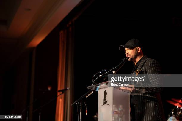 CMT host Cody Alan speaks at The Peabody on January 17 2020 in Memphis Tennessee