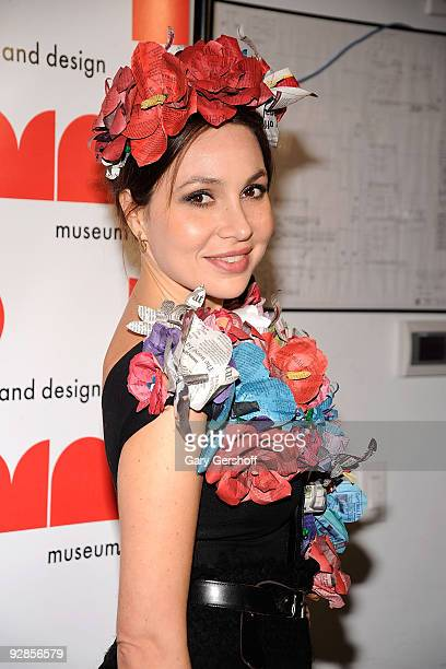 Host Committee member Fabiola Beracasa attends the 2009 MAD Paperball Gala at Museum of Art and Design on October 14 2009 in New York City