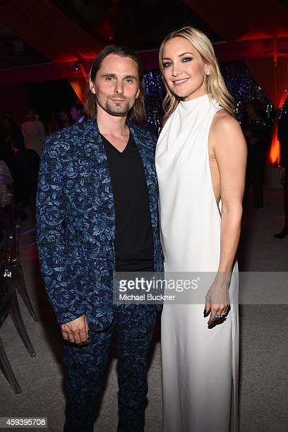 Host committee members Matthew Bellamy and Kate Hudson attend Goldie Hawn's inaugural 'Love In For Kids' benefiting the Hawn Foundation's MindUp...