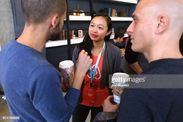 Host Community Operations Airbnb Suana Wang attends Expand Your Business Host for Others at Skingraft during Airbnb Open LA Day 2 on November 18 2016...