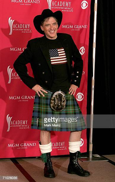 TV host Craig Ferguson poses in the press room at the 41st Annual Academy Of Country Music Awards held at the MGM Grand Garden Arena on May 23 2006...