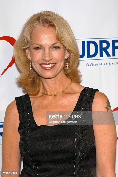 Host Cyndy Garvey attends the Juvenile Diabetes Research Foundation's 2nd Annual Gala at the Beverly Hills Hotel on May 14 2005 in Beverly Hills...