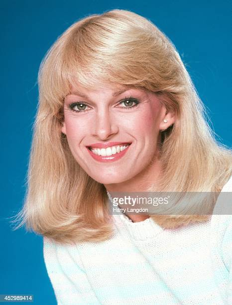 TV host Cyndy Garvey poses for a portrait in 1987 in Los Angeles California
