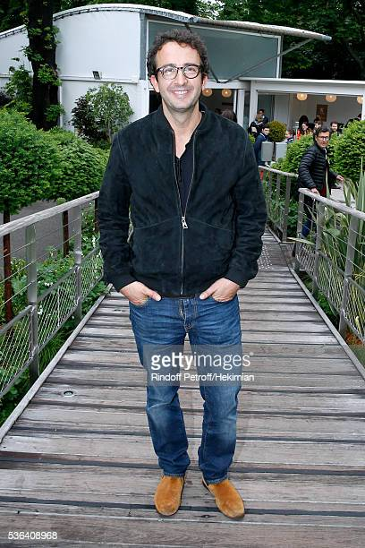 TV host Cyrille Eldin attends Day Eleven of the 2016 French Tennis Open at Roland Garros on June 1 2016 in Paris France