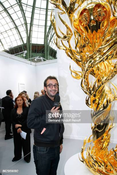 Host Cyrille Eldin attends the FIAC 2017 International Contemporary Art Fair Press Preview at Le Grand Palais on October 18 2017 in Paris France