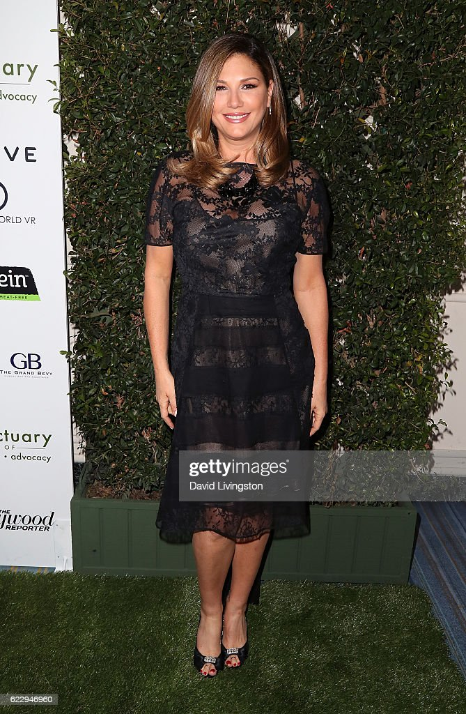 TV host Daisy Fuentes attends the Farm Sanctuary's 30th Anniversary Gala at the Beverly Wilshire Four Seasons Hotel on November 12, 2016 in Beverly Hills, California.