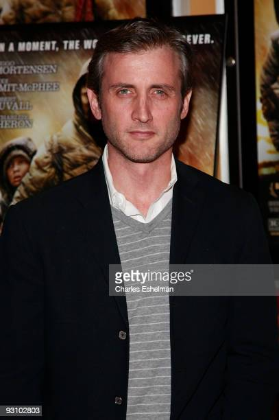 TV host Dan Abrams attends the premiere of The Road at the Clearview Chelsea Cinemas on November 16 2009 in New York City